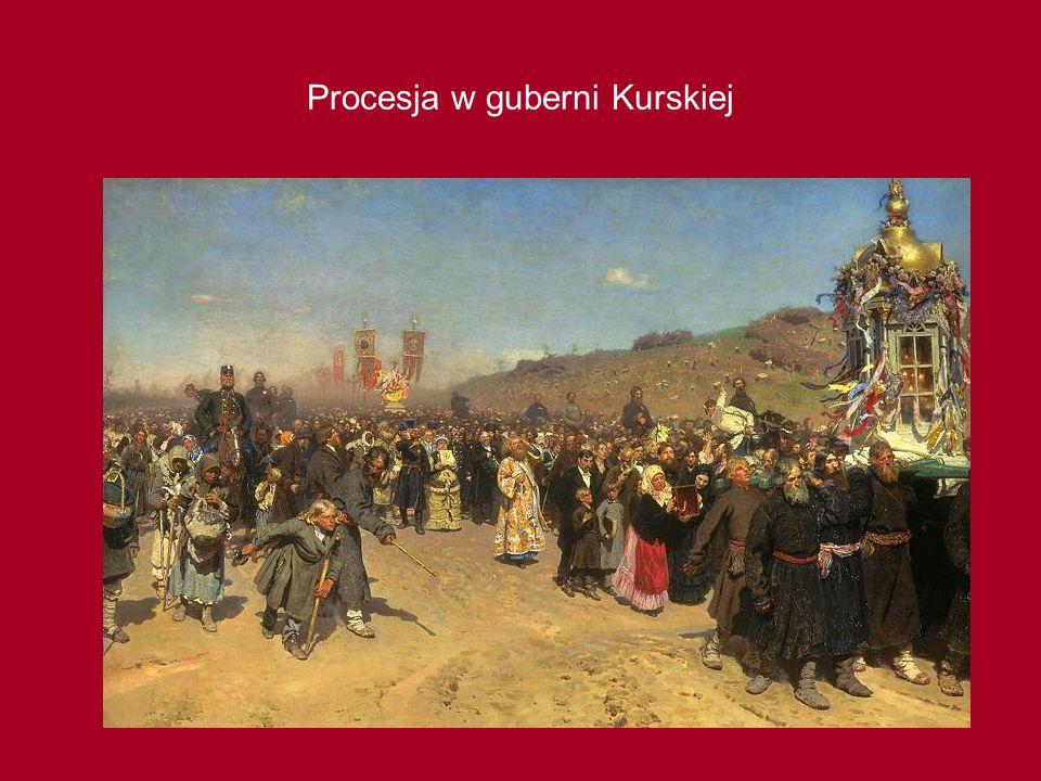 Procesja w guberni Kurskiej