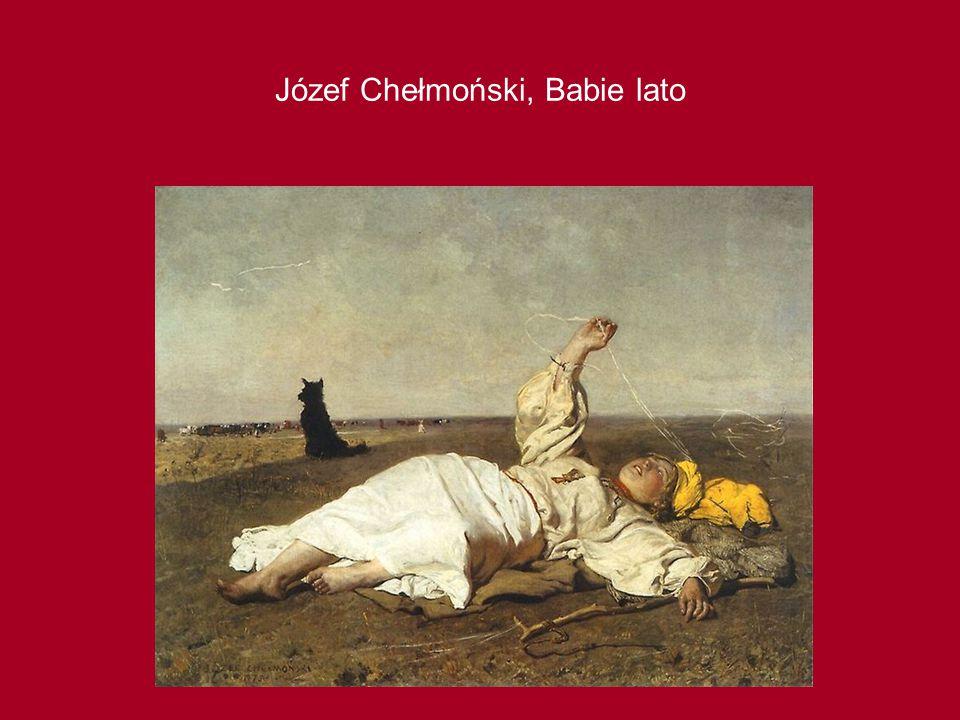 Józef Chełmoński, Babie lato
