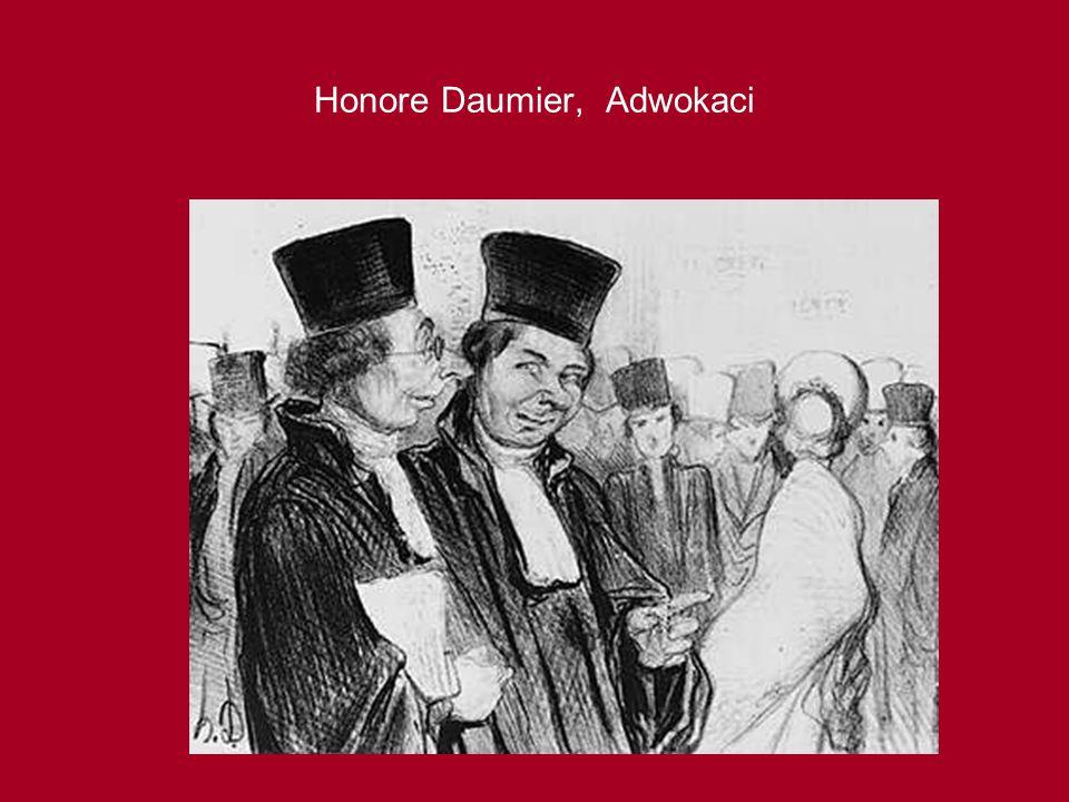 Honore Daumier, Adwokaci