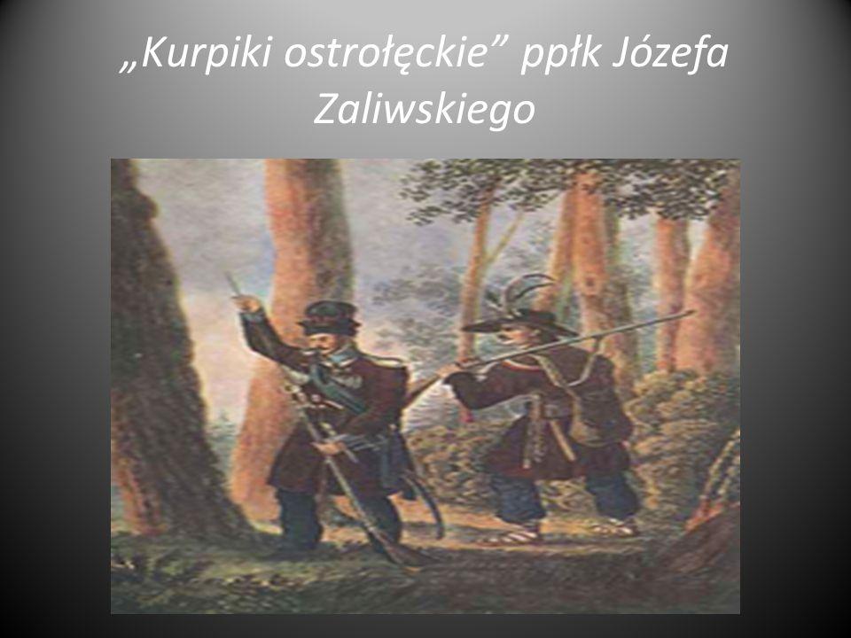 """""""Kurpiki ostrołęckie"""" ppłk Józefa Zaliwskiego"""