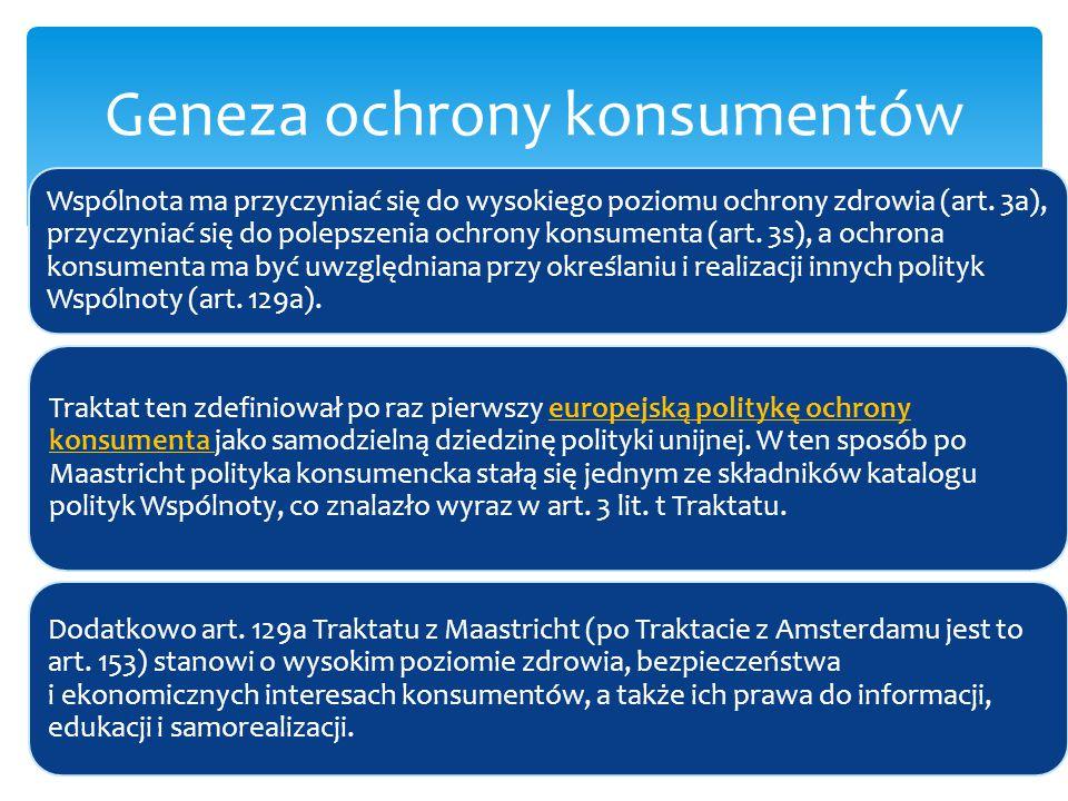 Ustawa o ogólnym bezpieczeństwie produktów Ustawa o zwalczaniu nieuczciwej konkurencji Ustawa o świadczeniu usług drogą elektroniczną Źródła prawa ochrony konsumentów w Polsce
