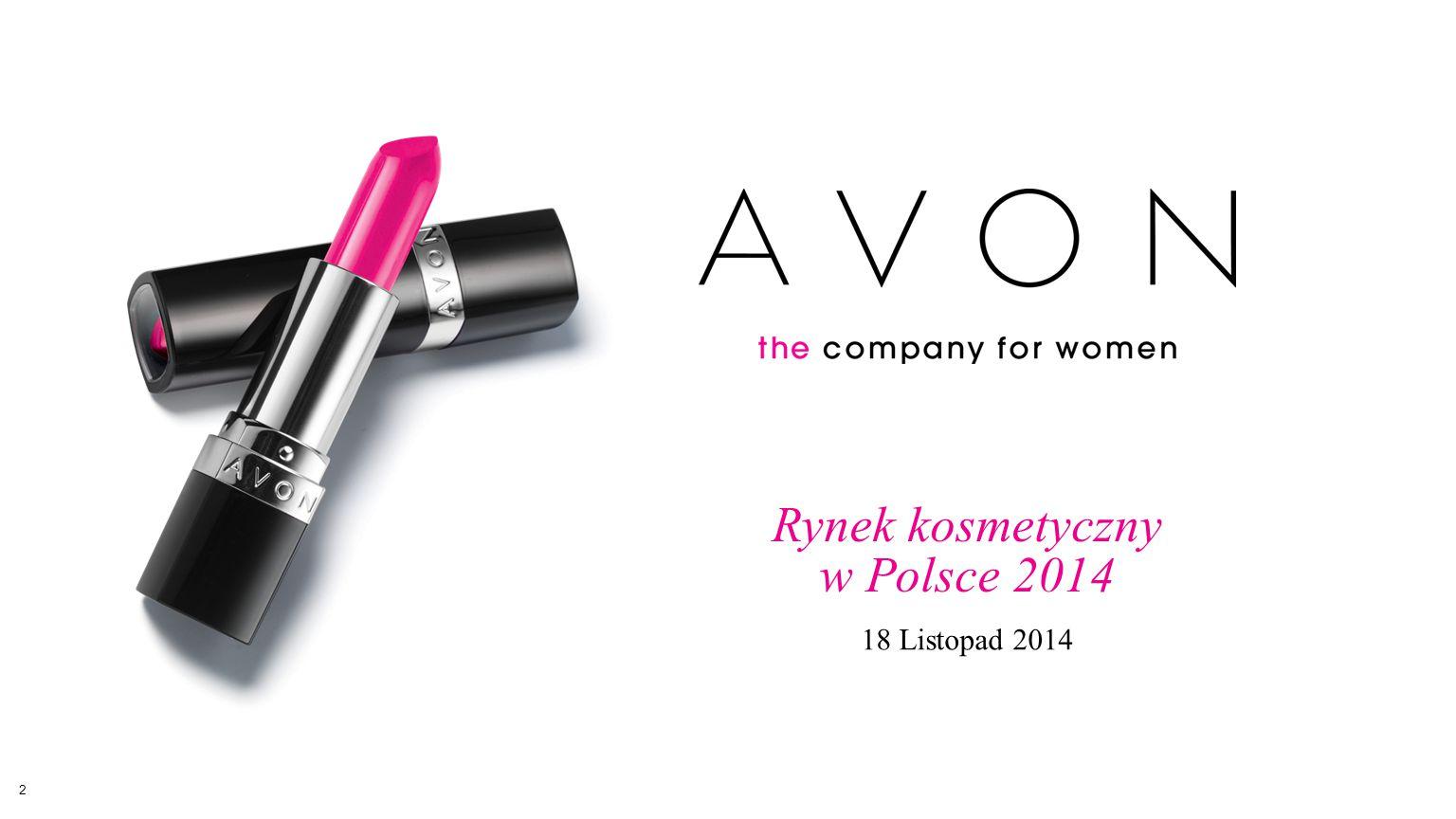 Rynek kosmetyczny w Polsce 2014 18 Listopad 2014 2