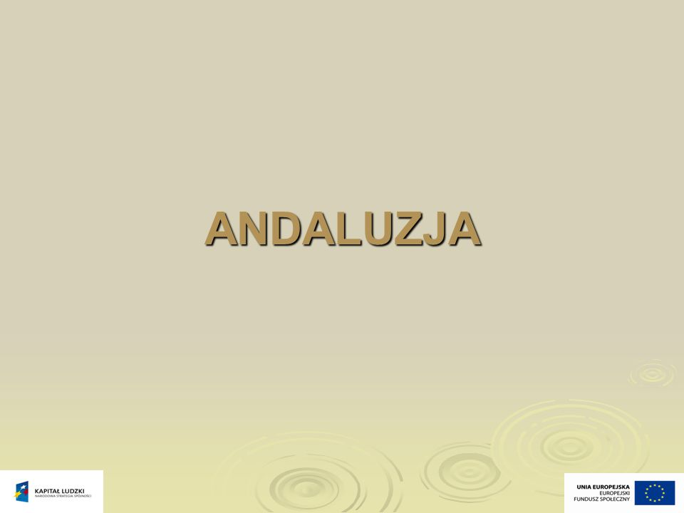 ANDALUZJA