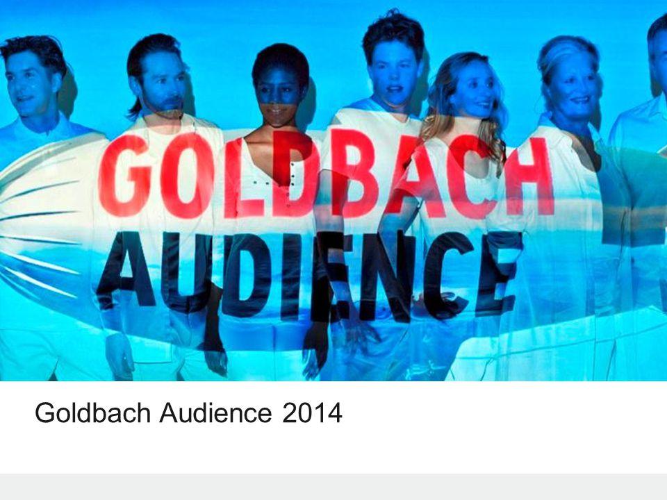 © 2014 Goldbach Audience2 1.Goldbach Audience w 2013 2.Status portfolio 3.Zmiany w Dedicated & Tailor Made 4.Zmiany w Reach and Context 5.Zmiany w Audience and Converstion 6.Podsumowanie Agenda