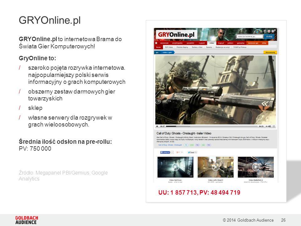 GRYOnline.pl to internetowa Brama do Świata Gier Komputerowych! GryOnline to: /szeroko pojęta rozrywka internetowa. najpopularniejszy polski serwis in