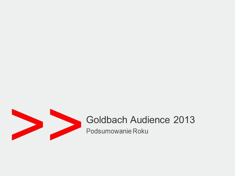 Dedicated and Tailor madeReach and context Audience and Conversion © 2014 Goldbach Audience24 Premium Gracz GRYOnline.pl, tvgry.pl, twitch.tv, mlg.tv, esl.tv Sport sportwizja.pl, sportowefakty.pl, dailymotion.pl/ sport, sport.spryciarze.pl dailymotion.pl, esl.tv, GRYOnline.pl, mlg.tv,sportwizja.pl sportowefakty.pl, spryciarze.pl, tvgry.pl, twitch.tv, vodeon.pl viewster.com, Zasięg + Vod, filmy vodeon.pl, viewster.com Oferta Premium VOD to zestawienie najlepszych i najbardziej rozpoznawalnych serwisów typu VOD.
