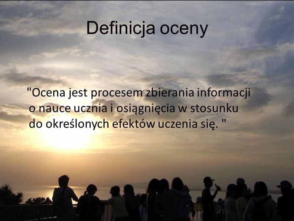 Definicja oceny