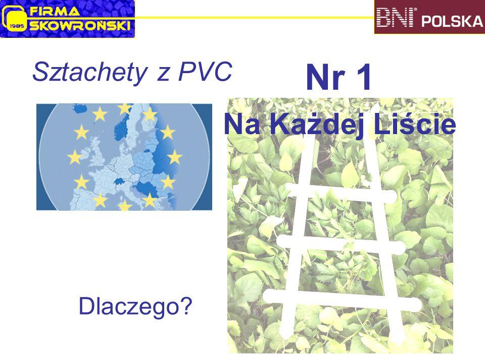 Sztachety z PVC Dlaczego Nr 1 Na Każdej Liście