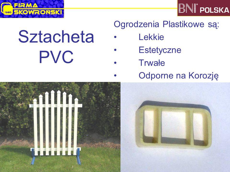 Ogrodzenia Plastikowe są: Lekkie Estetyczne Trwałe Odporne na Korozję Sztacheta PVC