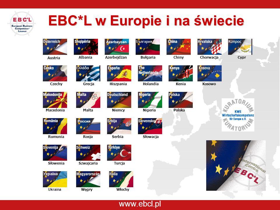 www.ebcl.pl Austria AlbaniaAzerbejdżanBułgariaChiny CzechyHiszpania Niemcy Chorwacja Włochy KeniaKosowo MaltaMacedonia Węgry Holandia NigeriaPolska Ru