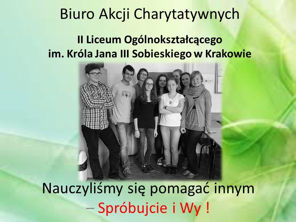 Biuro Akcji Charytatywnych II Liceum Ogólnokształcącego im.