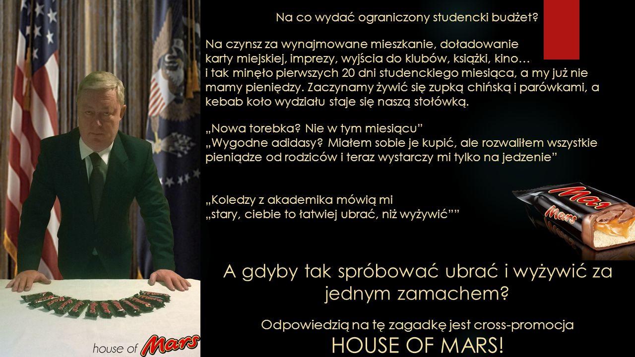 Dlaczego akurat House of Mars.Zna go każdy.