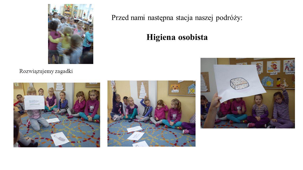 Ustalamy zasady higieny osobistej naszej grupy:
