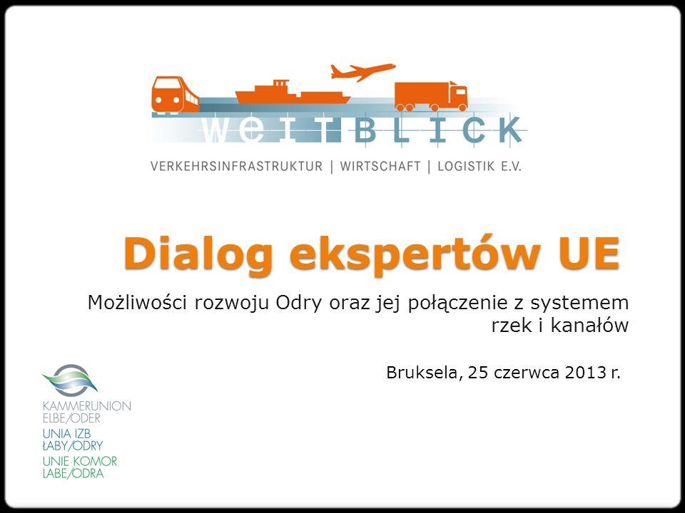 Dialog ekspertów UE Możliwości rozwoju Odry oraz jej połączenie z systemem rzek i kanałów Bruksela, 25 czerwca 2013 r.