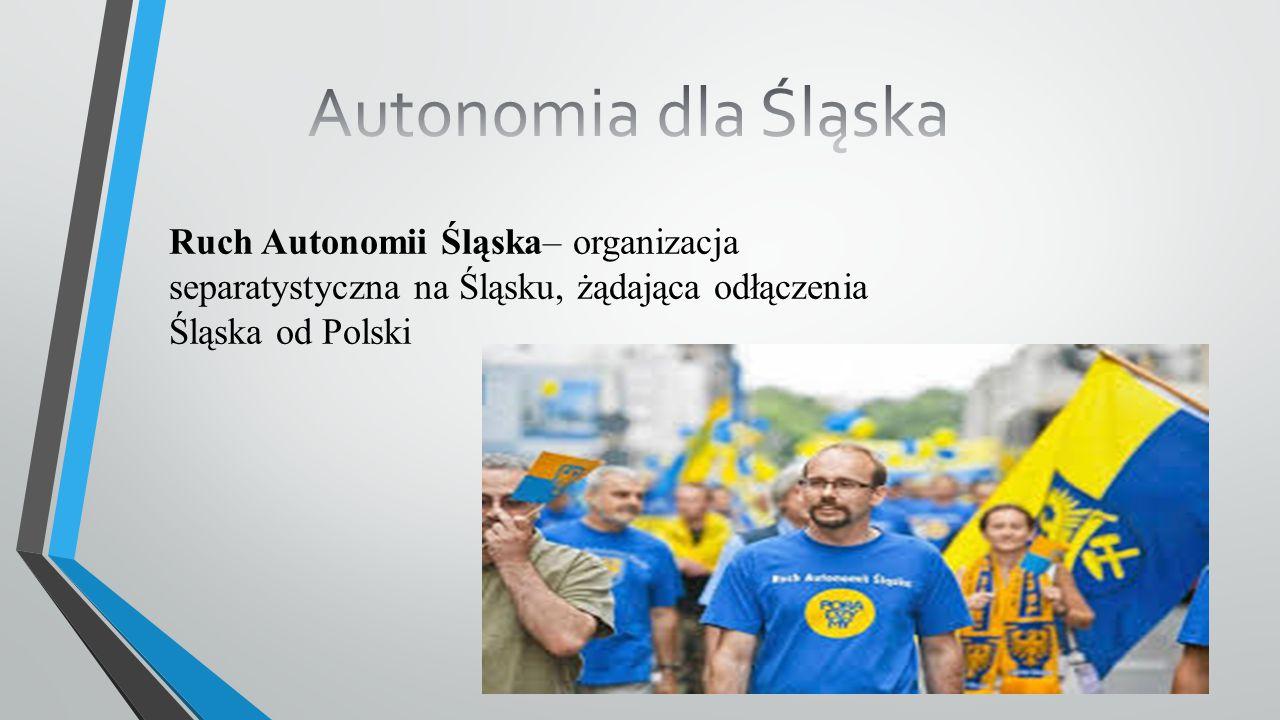 """Cytat Jerzego Gorzelika przewodniczącego RAŚ: """"Jestem Ślązakiem, nie Polakiem."""