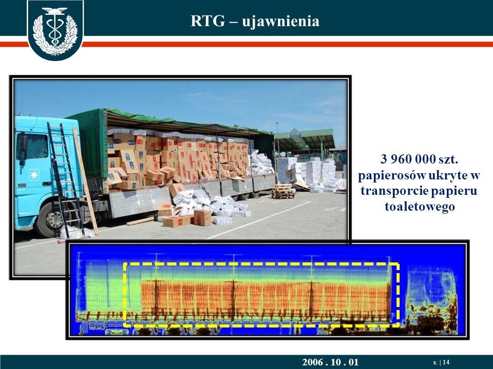 2006. 10. 01 s. | 14 RTG – ujawnienia 3 960 000 szt.
