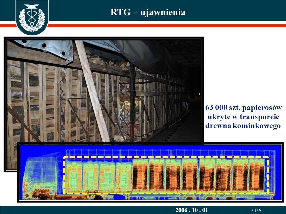 2006. 10. 01 s. | 16 RTG – ujawnienia 63 000 szt.