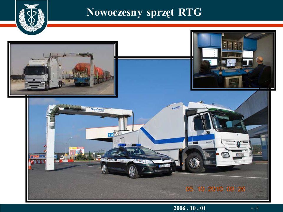 2006. 10. 01 s. | 8 Nowoczesny sprzęt RTG