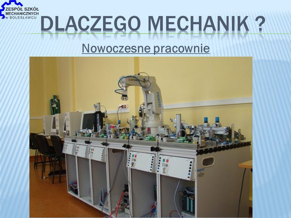 MODERNIZACJA CENTRÓW KSZTAŁCENIA NA DOLNYM ŚLĄSKU Wartość wyposażenia pracowni 4 mln PLN