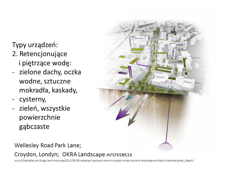 Wellesley Road Park Lane; Croydon, Londyn; OKRA Landscape Architects www10.aeccafe.com/blogs/arch-showcase/2011/05/05/wellesley-road-park-lane-in-croydon-london-by-okra-landscape-architects/characterzones_18april/ Typy urządzeń: 2.