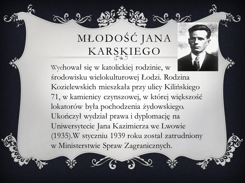 CZAS POCZĄTKU II WOJNY SWIATOWEJ  Po ataku ZSRR na Polskę dostał się do niewoli sowieckiej, do łagru Kozielszczyna, jednak dzięki fortelowi objęty został wymianą jeńców pomiędzy Niemcami i ZSRR, która odbyła się w Przemyślu.