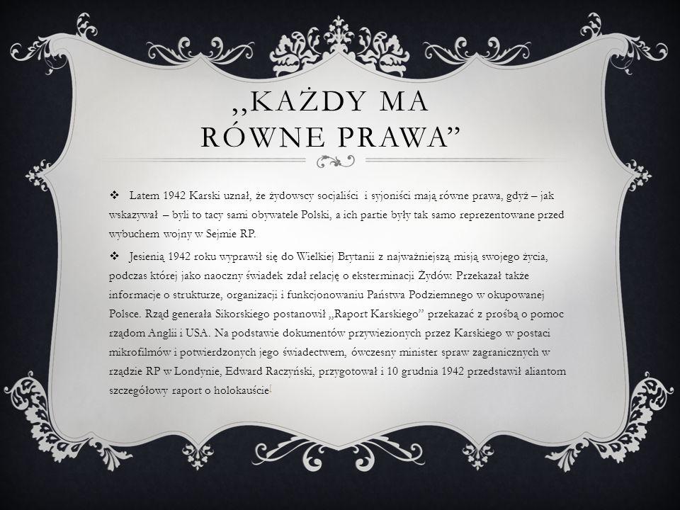 NOTA RACZYŃSKIEGO  Nota została napisana przez polskiego dyplomatę, ministra spraw zagranicznych emigracyjnego rządu w Londynie Edwarda Raczyńskiego na podstawie raportów Jana Karskiego zawierających dokumenty przywiezione z okupowanej Polski w postaci mikrofilmów oraz osobistych relacji.