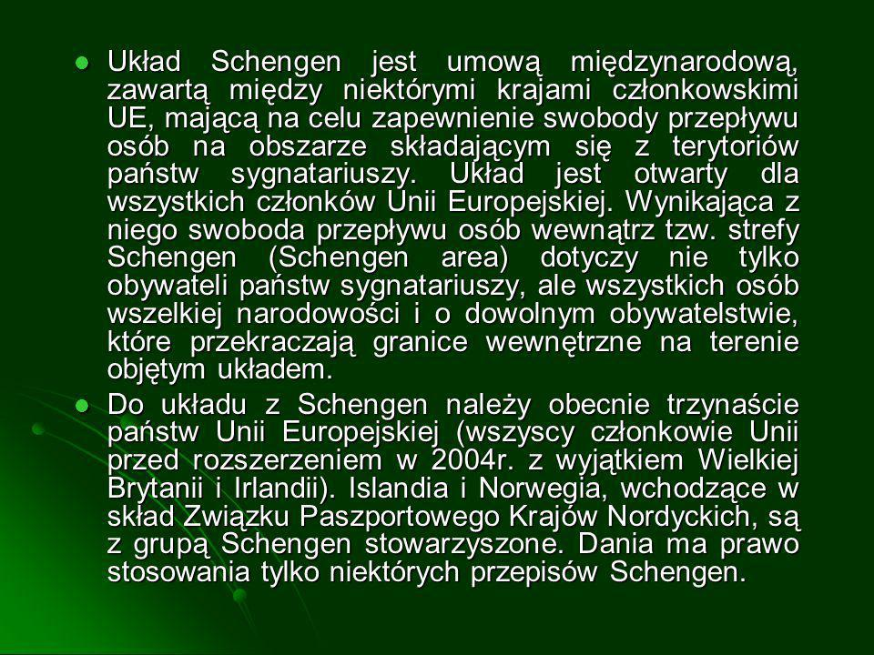 Polska w Schengen - obchody centralne