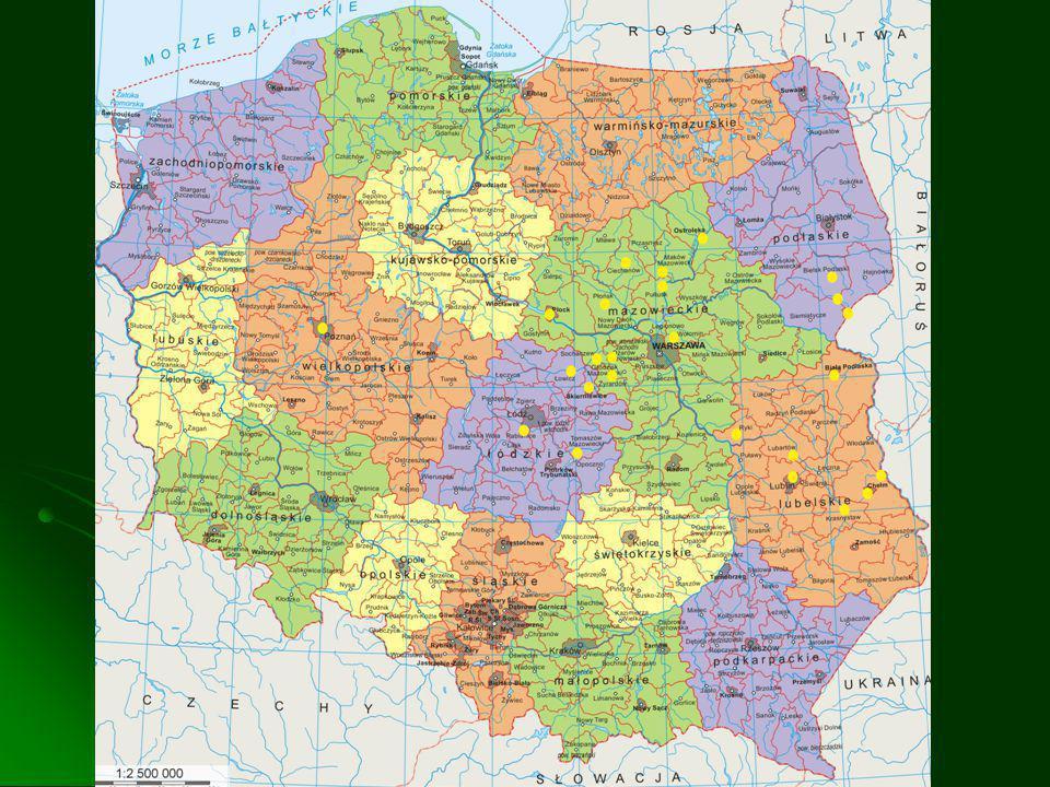 Granice RP Długość granicy państwowej - 3511,52 km.