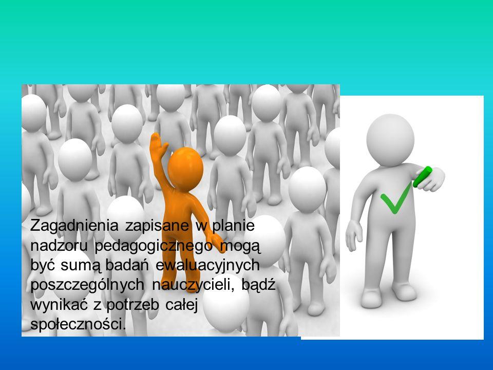 Jakie mogą być źródła określania obszarów i celów ewaluacji wewnętrznej.