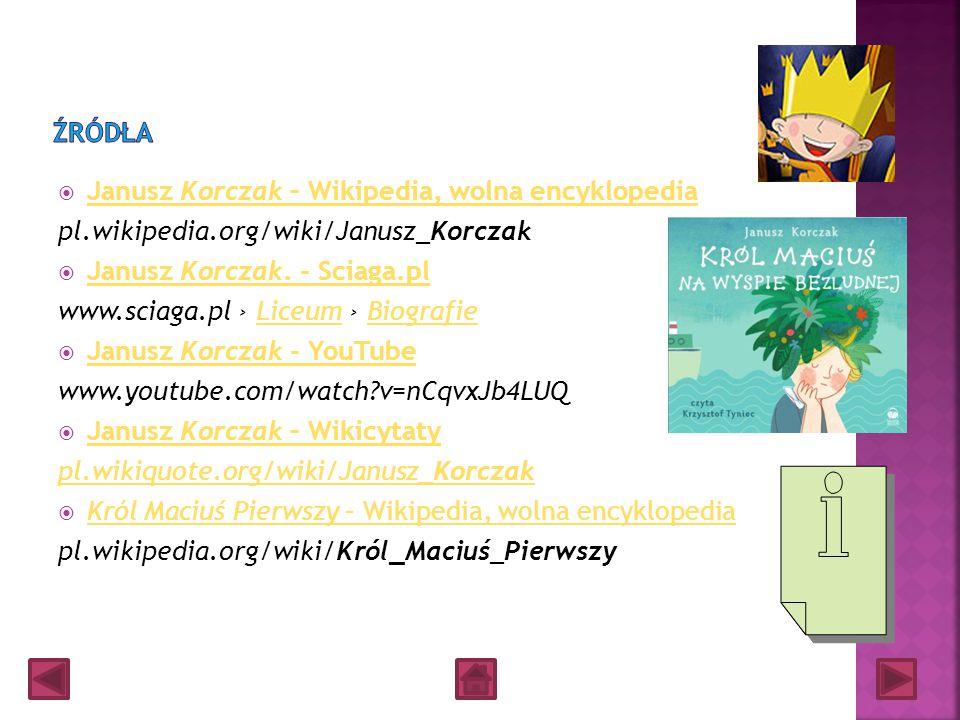Grupa VI. KORCZAKO - GPS-owcy Wasza drużyna ma za zadanie odnalezienie polskich szkół imienia Janusza Korczakua oraz naniesienie wyników waszych poszu