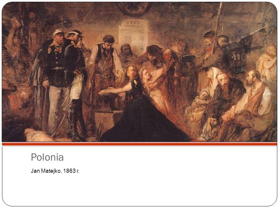 Polonia Jan Matejko, 1863 r.