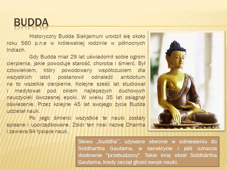 """Słowo """"buddha"""", używane obecnie w odniesieniu do Siddhartha Gautama, w sanskrycie i pāli oznacza dosłownie"""