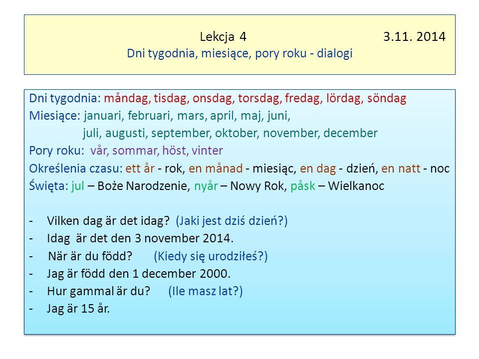 Lekcja 4 3.11.