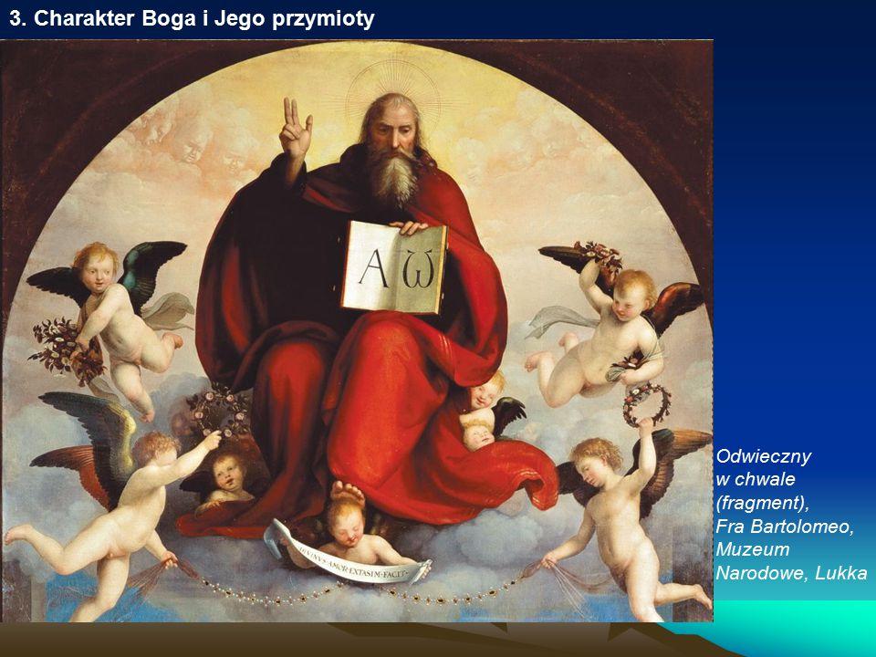 3. Charakter Boga i Jego przymioty Odwieczny w chwale (fragment), Fra Bartolomeo, Muzeum Narodowe, Lukka