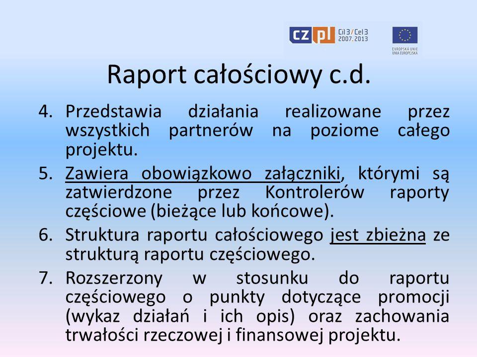 Raport całościowy c.d.