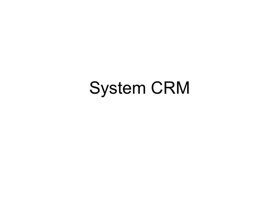 System CRM
