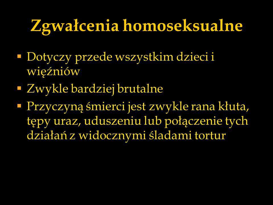 Podział wg Hanauska, Marek i Widackiego  Gwałty rzeczywiste,  Gwałty bezwiednie prowokowane,  Gwałty prowokowane,  Fałszywe oskarżenia.