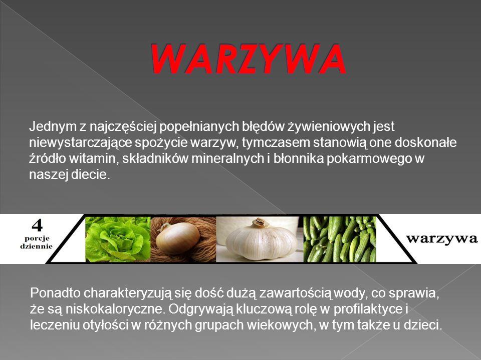 Jednym z najczęściej popełnianych błędów żywieniowych jest niewystarczające spożycie warzyw, tymczasem stanowią one doskonałe źródło witamin, składnik