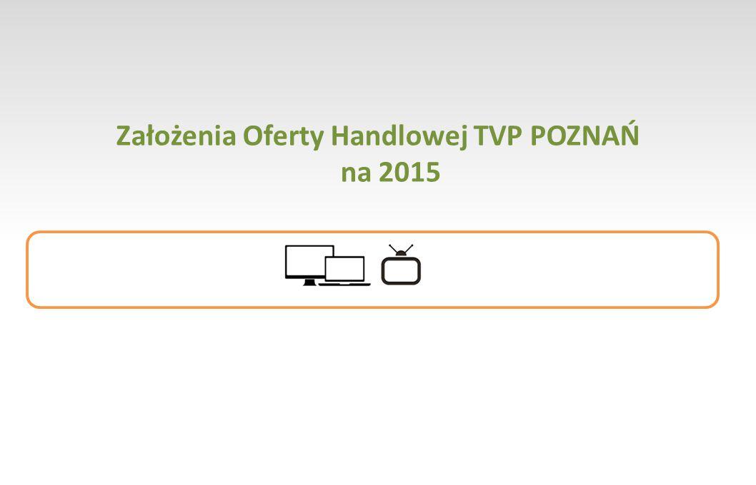 Założenia Oferty Handlowej TVP POZNAŃ na 2015