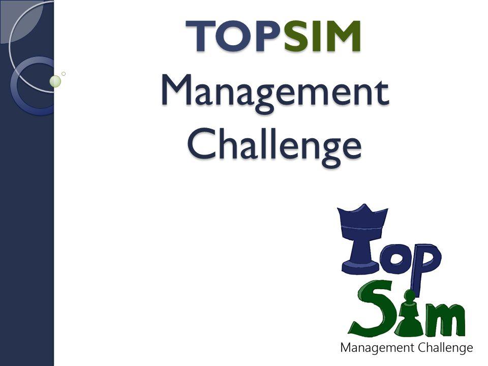 TOPSIM Management Challenge