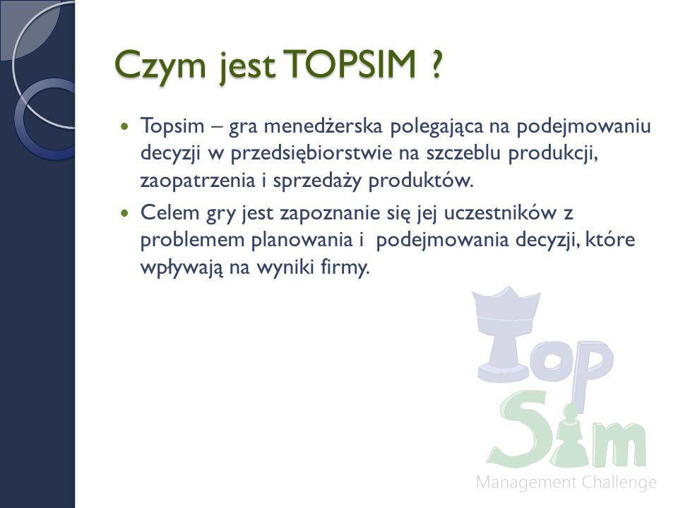Czym jest TOPSIM .