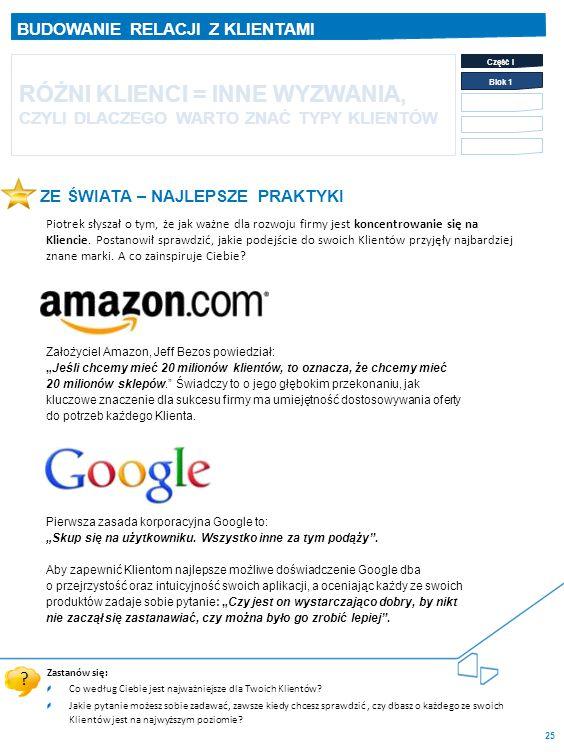 """Pierwsza zasada korporacyjna Google to: """"Skup się na użytkowniku."""