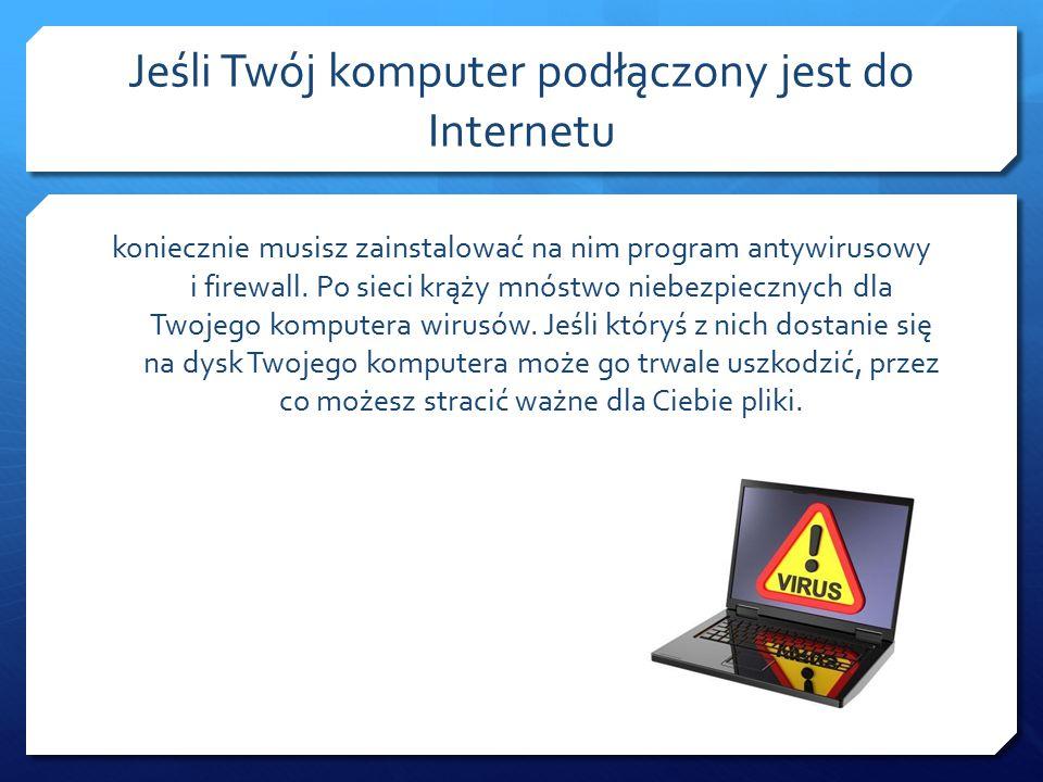 Gdy jesteś świadkiem lub ofiarą cyberprzemocy najlepiej poinformować o tym rodziców lub inną zaufaną osobę dorosłą.