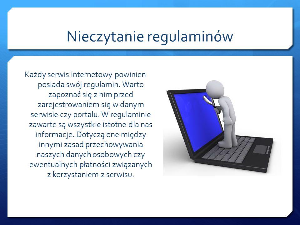 Chroń swoje dane W kontaktach z osobami poznanymi w Internecie chroń swoją prywatność.