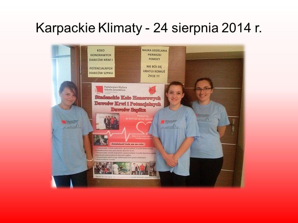Karpackie Klimaty - 24 sierpnia 2014 r.