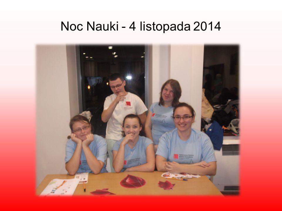 Noc Nauki - 4 listopada 2014