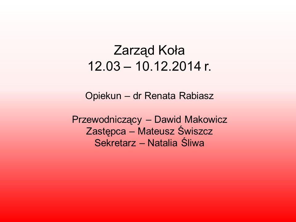 Dwa wymazy do bazy – 26-27 listopada 2014 roku