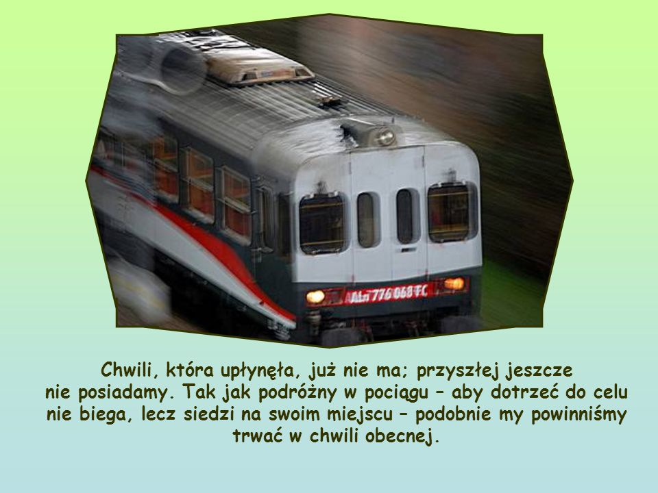Nie to, co Ja chcę, ale to, co Ty! .