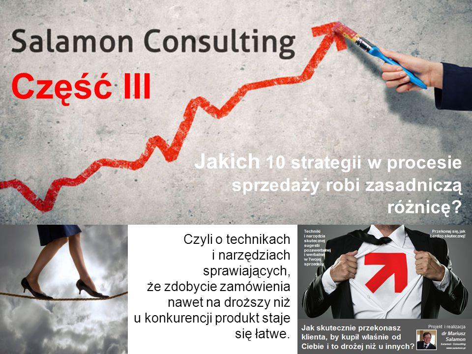 Jakich 10 strategii w procesie sprzedaży robi zasadniczą różnicę.