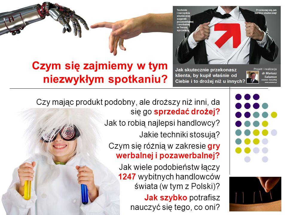 Cztery lata temu po raz pierwszy ujawniono wyniki wieloletnich (trwały prawie 7 lat) obserwacji i badań prowadzonych na grupie 1247 wybitnych handlowców z 63 krajów świata, w tym 17 z Polski.